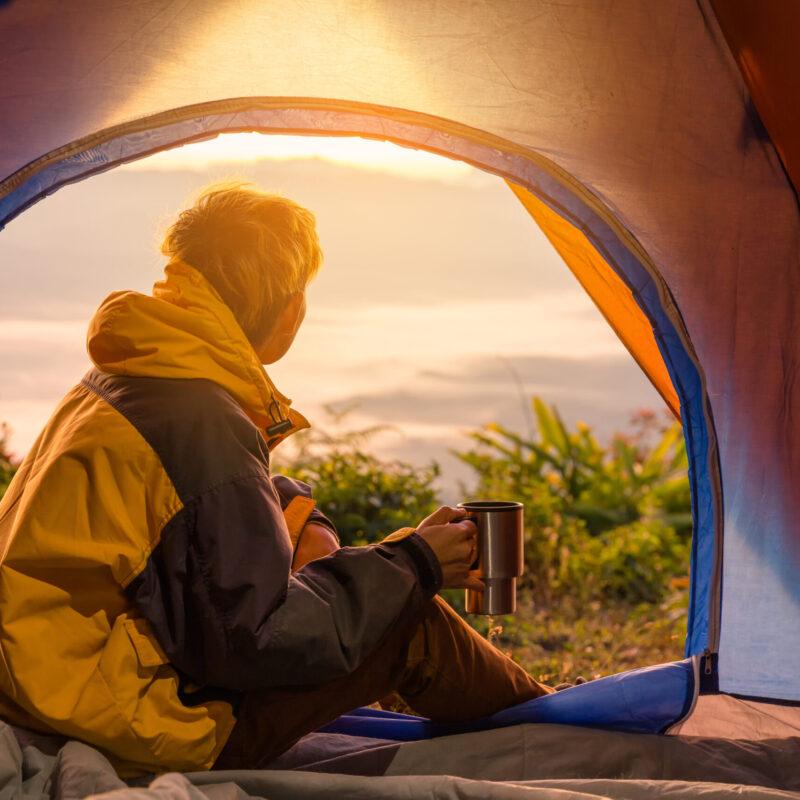 arlecchino stendino da campeggio